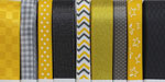 Yellow & Gray Ribbon Assortment SALE!