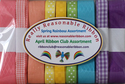 Monthly Ribbon Club, USA GIFT SUBSCRIPTION