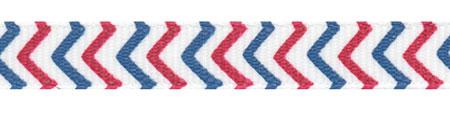 "3/8"" Vintage Patriotic Chevron Striped Grosgrain Ribbon Spool SALE!"