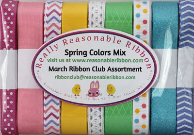 Monthly Ribbon Club, USA Customers