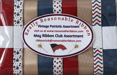 Vintage Patriotic Ribbon Assortment SALE!