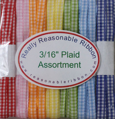 "3/16"" Plaid Assortment RESTOCKED!"
