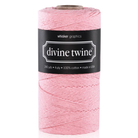 Baker's Twine Light Pink Solid