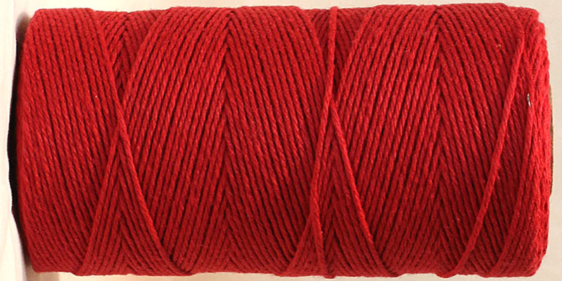 Baker's Twine Red Solid RESTOCKED!