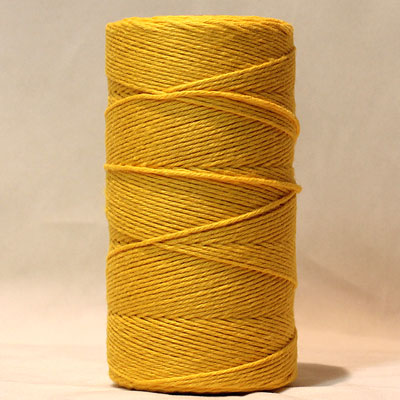 Baker's Twine Yellow Solid