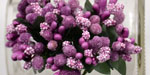 Bead Berry Spray Clusters Purple/Pink