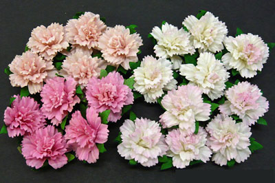 Wild Orchid Crafts Carnations Mixed Pink RESTOCKED!
