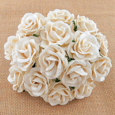 Chelsea Roses Ivory