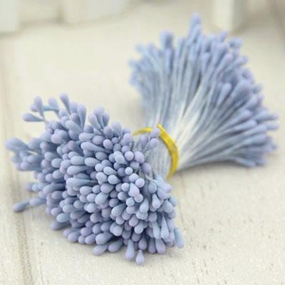 Double Head Mini Stamens Blue
