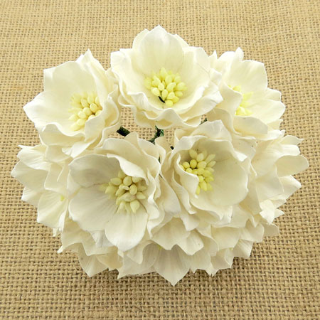 Wild Orchid Crafts Lotus Flower White