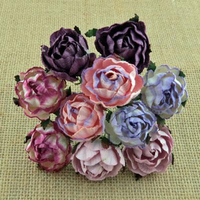 Peony Flowers Mixed Purple/Lilac