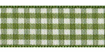 Plaid Ribbon Forest Green