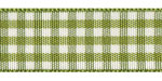 Plaid Ribbon Moss