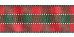 Plaid Ribbon Christmas Bold Check