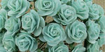 Wild Orchid Crafts Open Roses Pastel Green
