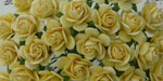 Wild Orchid Crafts Open Roses Yellow