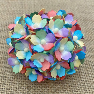 Wild Orchid Craft Sweetheart Blossoms Mixed Rainbow