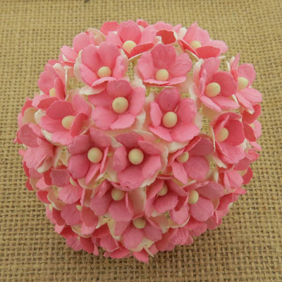 Wild Orchid Craft Sweetheart Blossoms 2-Tone Pink