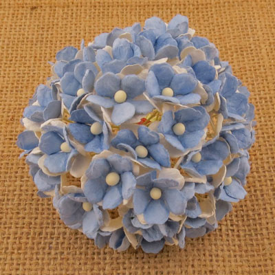 Wild Orchid Craft Sweetheart Blossoms 2-Tone Light Blue