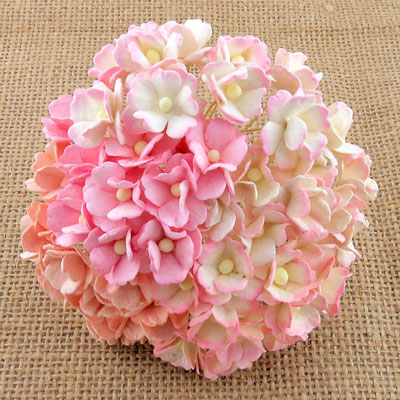 Wild Orchid Craft Sweetheart Blossoms Mixed Pink