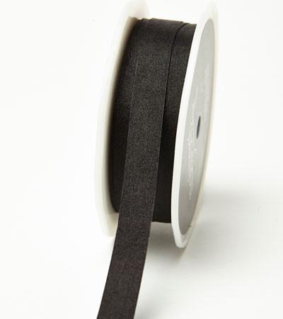 """1/2"""" Black Wrinkled Ribbon"""