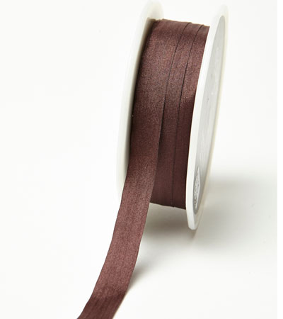 """1/2"""" Brown Wrinkled Ribbon"""