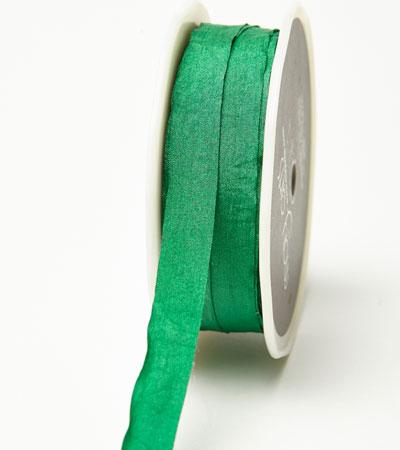 "1/2"" Emerald Wrinkled Ribbon"