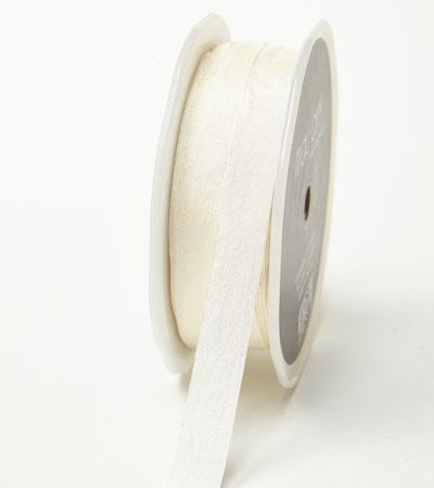 """1/2"""" Ivory Wrinkled Ribbon"""