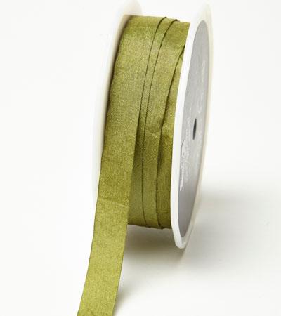 """1/2"""" Olive Wrinkled Ribbon"""