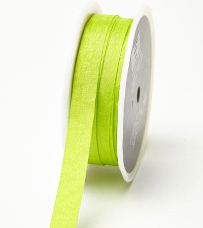 """1/2"""" Parrot Green Wrinkled Ribbon"""