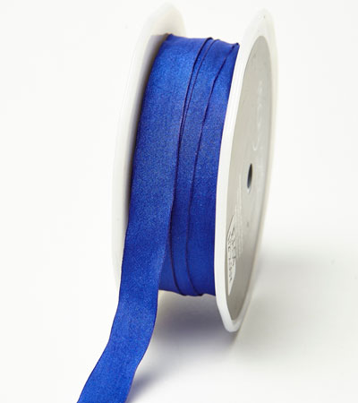 "1/2"" Royal Blue Wrinkled Ribbon"